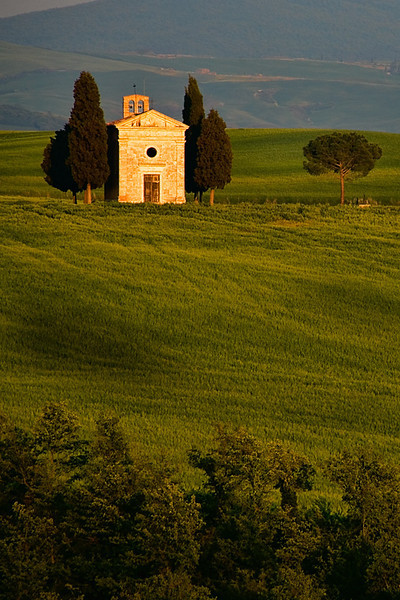 Capella di Vitaleta - Tuscany