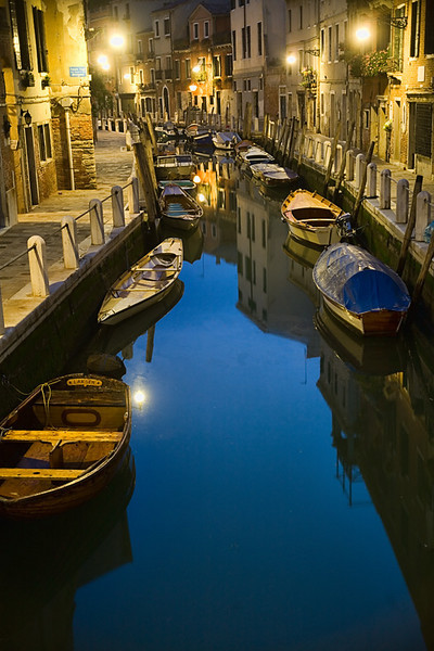 Canal in the Pre-Dawn - Venice