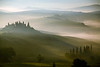 Foggy Dawn - Tuscany