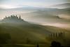 Foggy Dawn - Tuscany