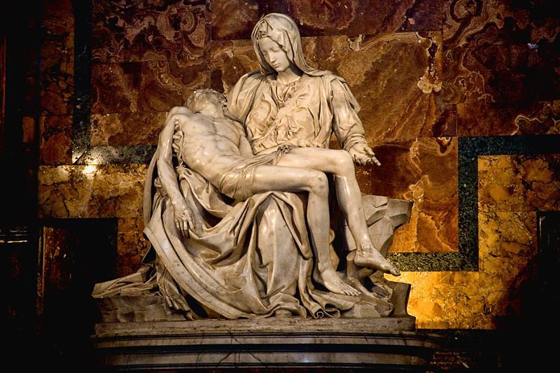 Michelangelo's Pieta - St. Peters Basilica, Vatican City