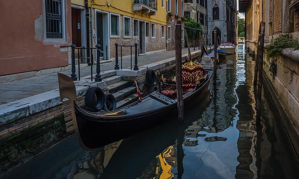 Venice - canal off of Campo Santo Stefano