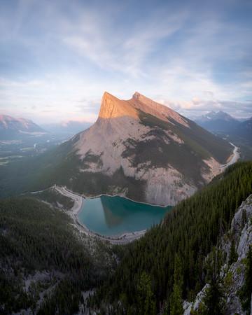 Ha Ling, Canmore, Alberta, Canada