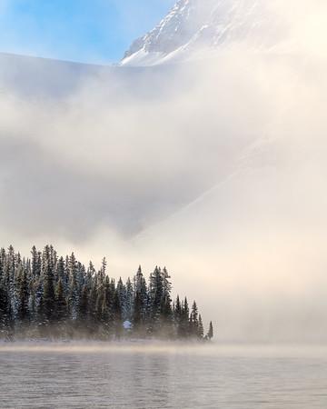 Crowfoot Glacier, Banff National Park, Alberta, Canada