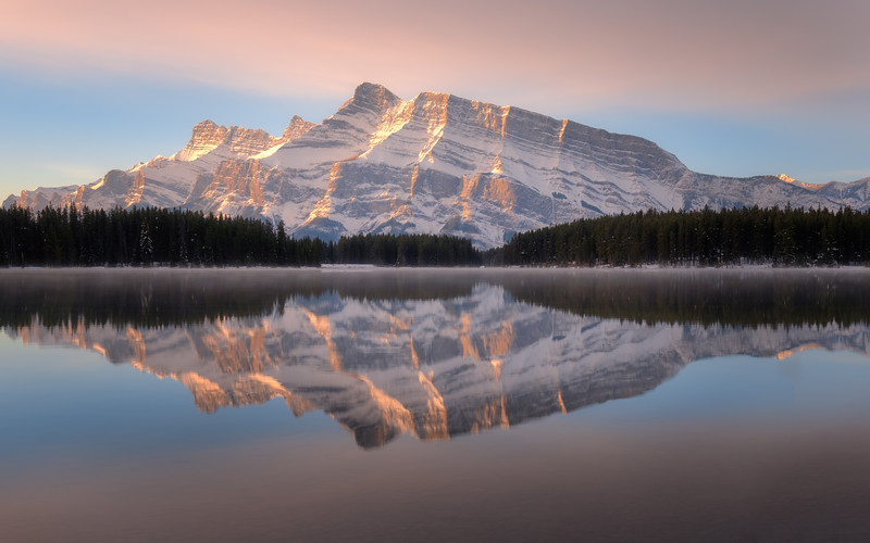 Two Jack Lake, Banff National Park, Alberta, Canada