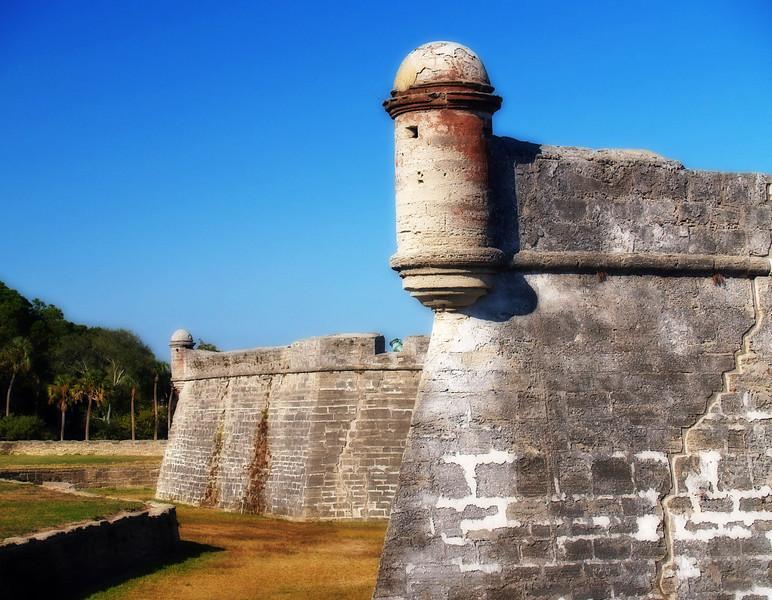 Castillo de San Marcos<br /> St. Augustine, Florida