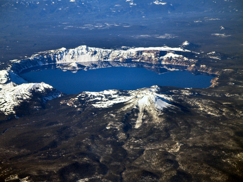 Crator Lake From Above