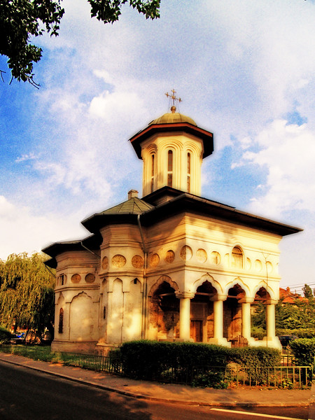 Orthodox Church<br /> Bucharest, Romania
