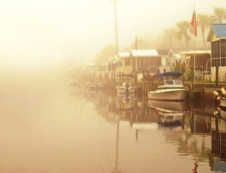 Morning on the Canal