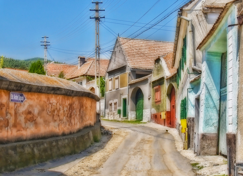 Romanian Village of Boita