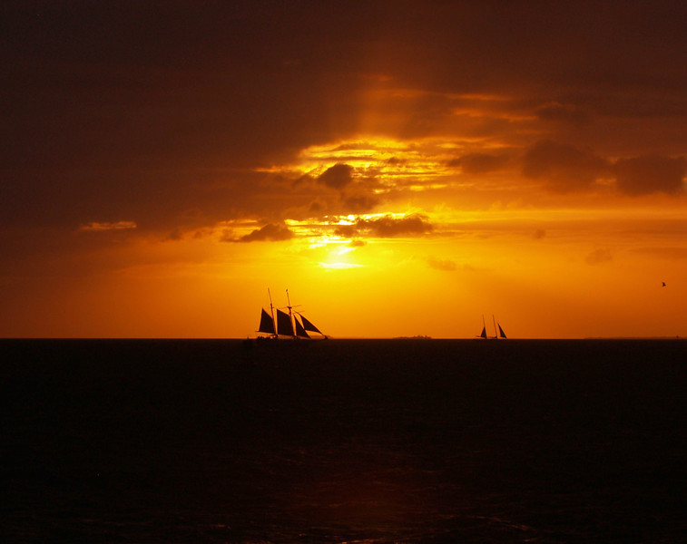Sails at Sunset<br /> Key West