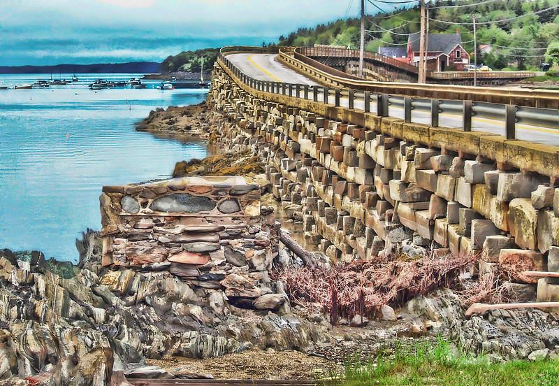 Cribstone Bridge<br /> Bailey Island, ME