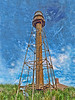 Sanibel Lighthouse  14x11    $75