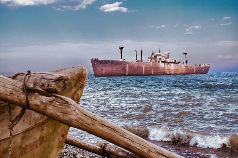 Shipwreck<br /> Constanta, Romania