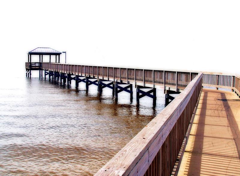 Pier Into Nowhere