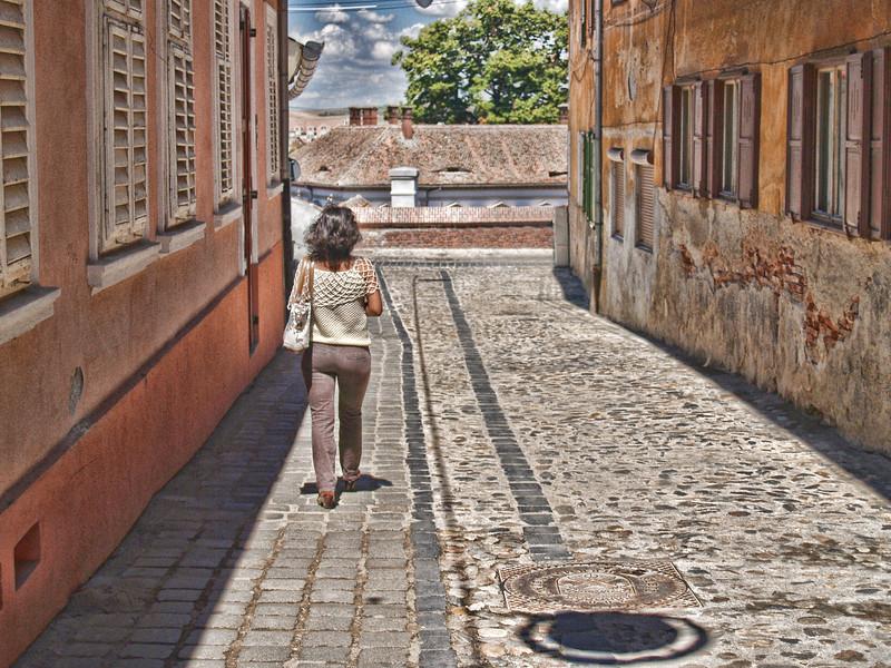 Strolling Sibiu