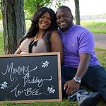 Melissa & Jabari Maternity 7.30.14
