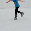 Skating on plastic - a new concept in skating rinks I guess.