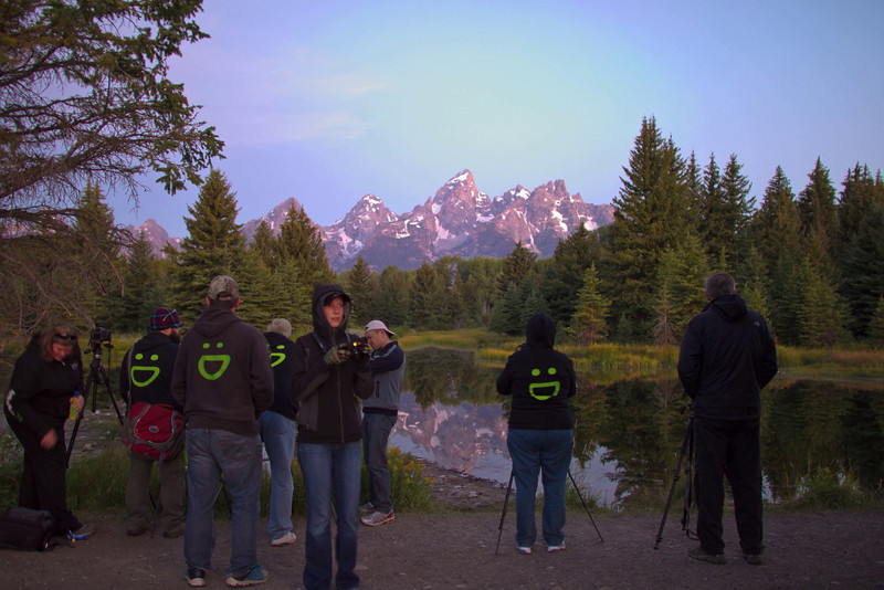 Dawn at Tetons timelapse