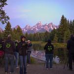 Dawn at Tetons timelapse