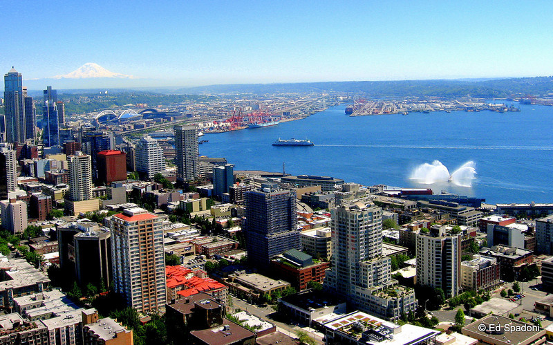 Puget Sound, Seattle, WA