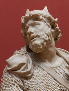 Bust of a King - Pierre Puget