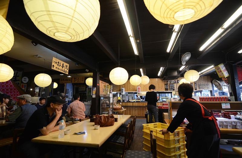 Random Udon shop near the base of Konpira mountain just out of Takamatsu.
