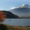 Lake Kawaguchi.