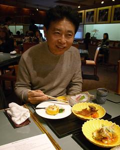 Michiba Restaurant of Rokusaburo Michiba, Japan's original Iron Chef