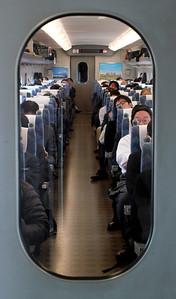 On the Shinkansen