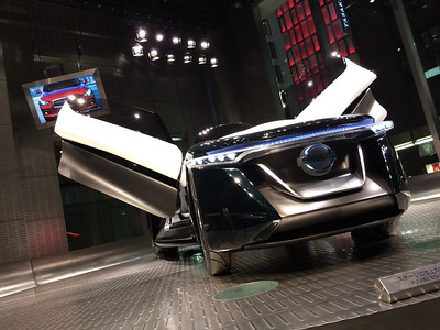 Nissan Gull-wing Hybrid