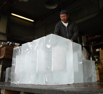 The Ice Man - essential worker for transporting fresh fish