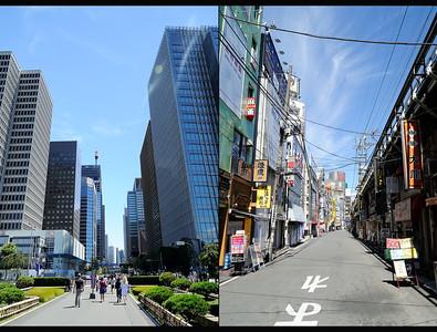 Tokyo's contrasts