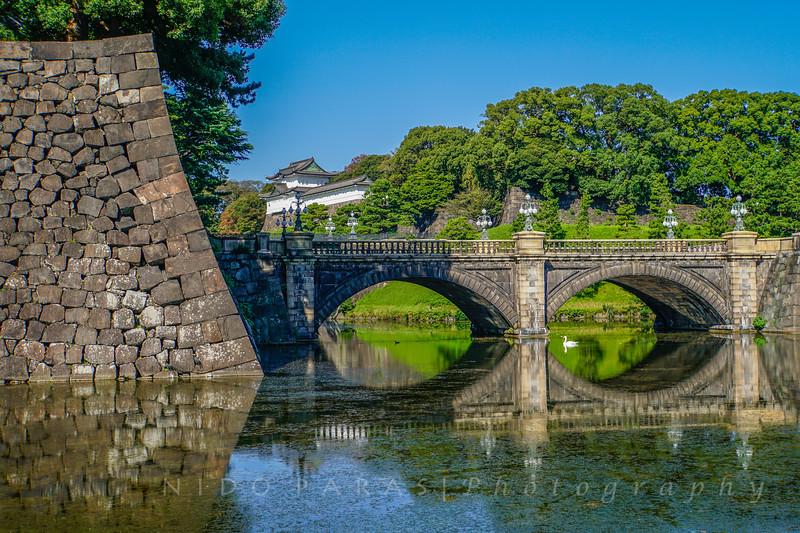 Nijubashi Bridge - Imperial Palace - Tokyo