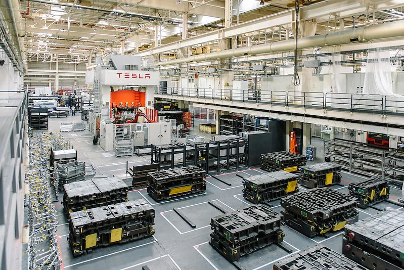 Tesla factory Fremont, CA