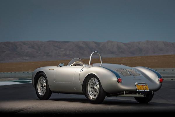 1955 Porsche 550 Spyder car