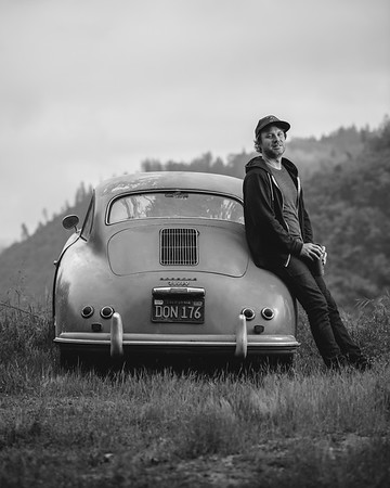 1956 Porsche 356. Auburn, CA