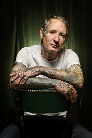 Freddy Corbin, tattoo artist