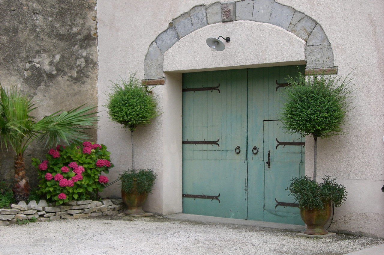 Residential Doorway - Carcassonne, France