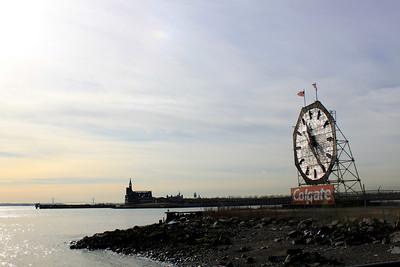 Colgate clock.