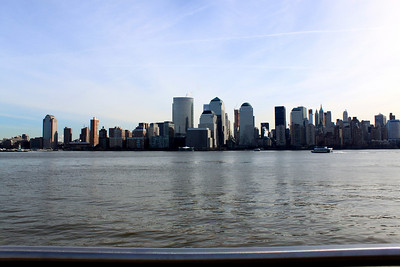 NYC skyline from the pier.