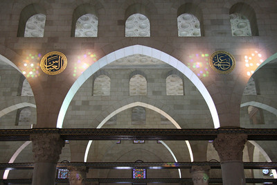 Arches and Lights - Al-Aqsa Mosque, Jerusalem