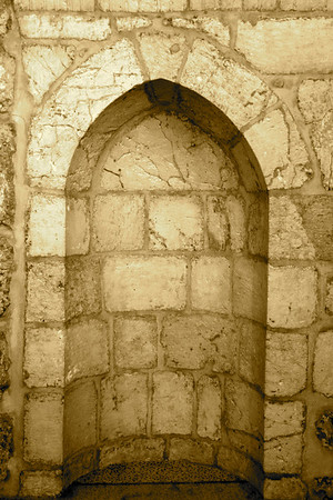 Lower level prayer niche - Al-Aqsa Mosque, Jerusalem