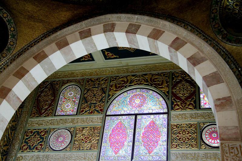 Arch and Wall Art - Al-Aqsa Mosque, Jerusalem