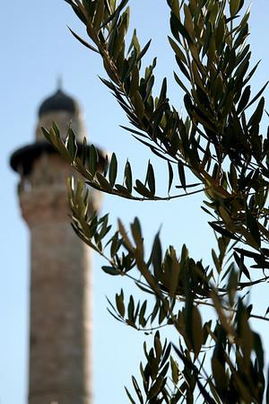 Minart near Al-Aqsa Mosque, Jerusalem