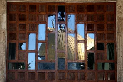 Reflection of Golden Dome - Al-Aqsa Mosque, Jerusalem