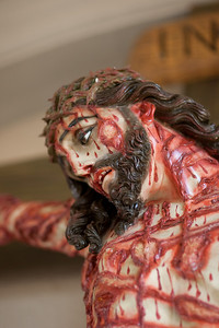 ...but he was pierced for our transgressions, he was crushed for our iniquities...