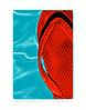 Ji;; Duncan_red flip flop summer