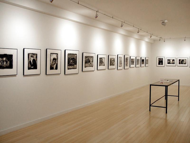 Jim Marshall's photography exhibit, Gallery 291., San Francisco. May 17, 2008