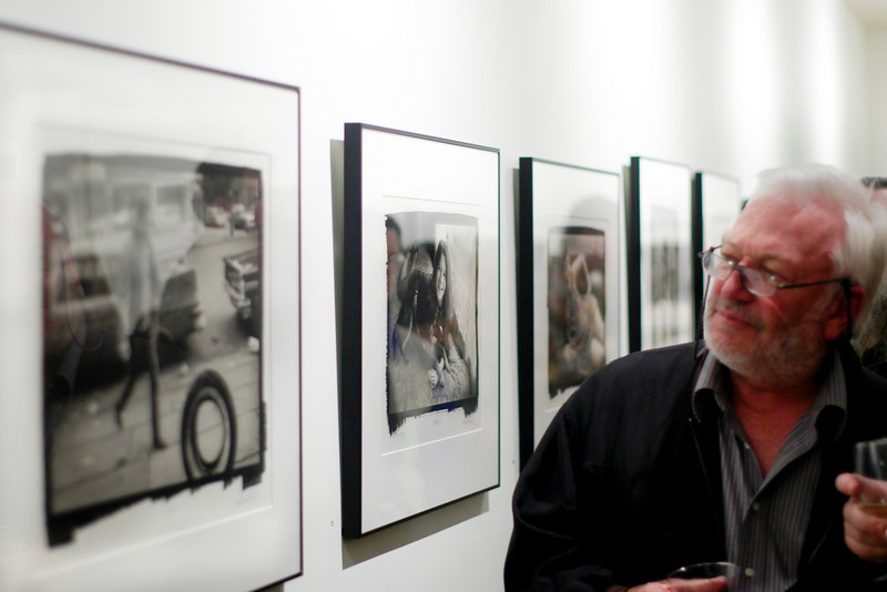 Photography reception of Jim Marshall at Gallery 291, 291 Geary St., San Francisco
